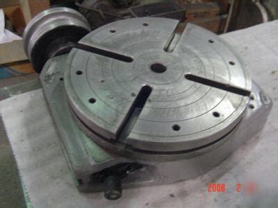 Bridgeport Rotary Table In Good Condition