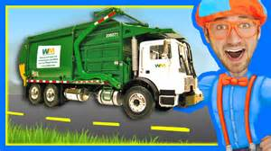 Garbage Truck by Garbage Trucks For Children With Blippi Learn About