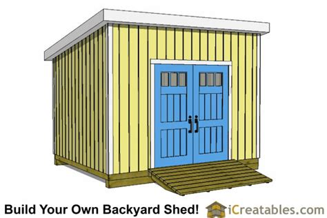 10x12 lean to shed plans icreatables com