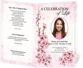 Funeral programs template creative memorials with funeral program