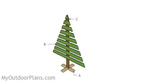 wooden christmas tree pattern plans 24 creative christmas tree plans woodworking egorlin com