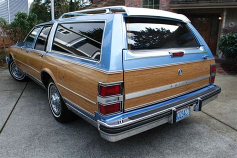 1988 buick lesabre estate wagon woody station wagon for