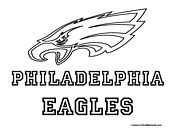 eagles coloring pages nfl nfl coloring pages have fun teaching free worksheets