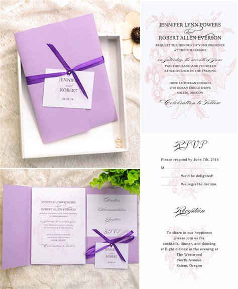 how do i put my wedding invitations together how to assemble your wedding invitations with pockets