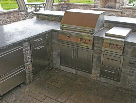 Barbecue Cabinets Outdoor Bbq Islands Cabinets Danver