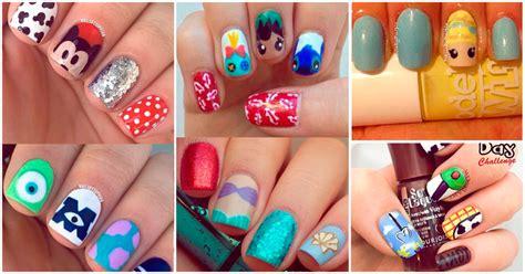 imagenes de uñas pintadas de vaquitas dise 241 os de u 241 as de tus pel 237 culas favoritas de disney yo