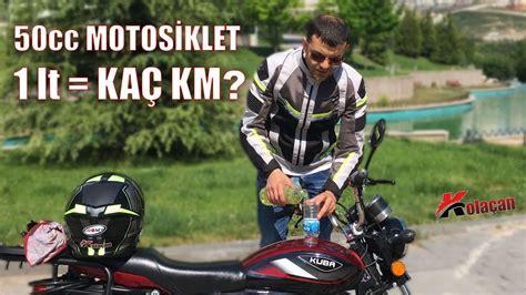 litre benzin ile kac km gidilir  cc motosiklet test