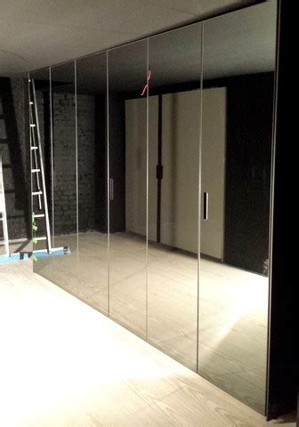 Glass Fronted Wardrobes - brand new glass fronted line wardrobes
