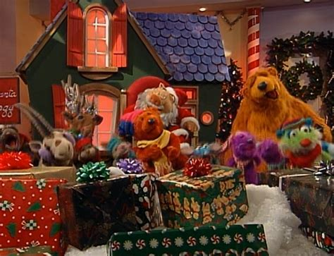 bear inthe big blue house christmas that s all i want for christmas muppet wiki