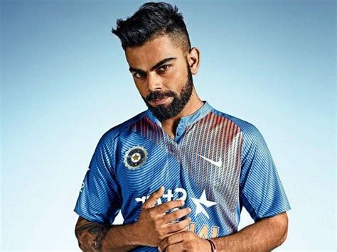 hairstyles of indian cricketers virat kohli s hairstyle looks bblunt