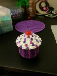 3d cupcake perler beads hama beads pinterest perler beads love this and love