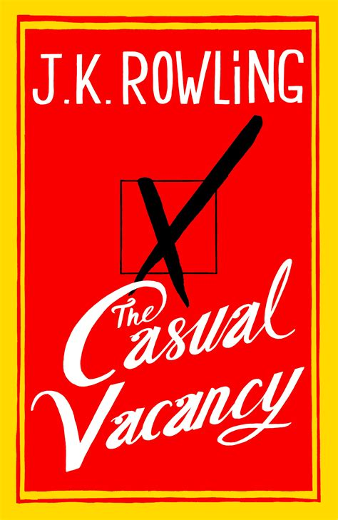 the casual vacancy j k rowling