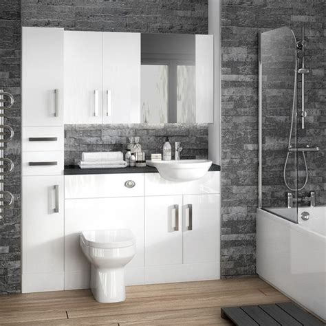 fitted bathroom ideas best 25 fitted bathroom furniture ideas on pinterest