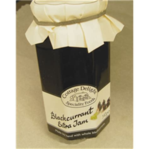 Cottage Delight Jam by Blackcurrant Jam Cottage Delight 310g Broughs Butchers