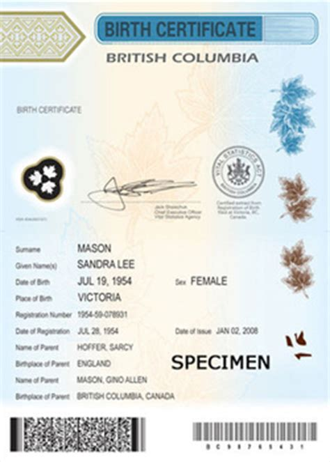 long version birth certificate quebec blog barbara findlay q c