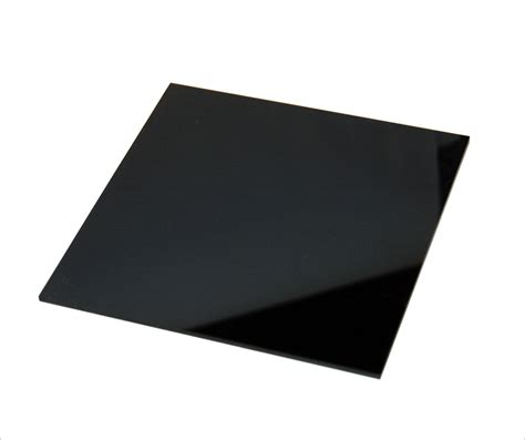 Acrylic 5mm black acrylic sheet cut to size plastic sheet black