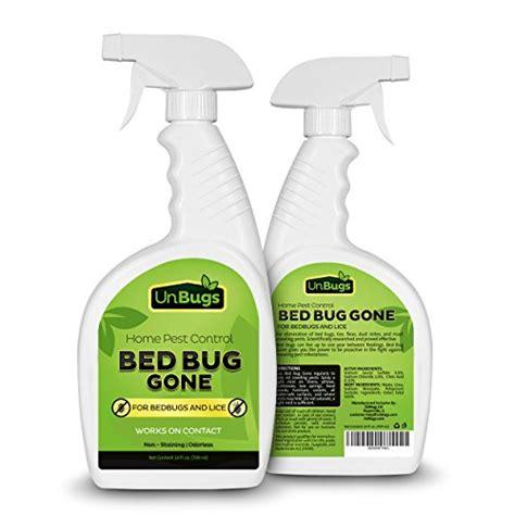 bed bug bully walmart unbugs bed bug spray killer pest control treatment