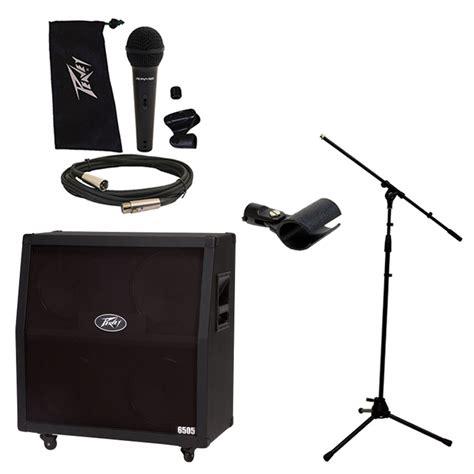 Kit Li Mono 100 Watt Subwoofer Plus Mic peavey 6505 412 slant cabinet electric guitar 4 12 quot speaker cab w mic stand ebay