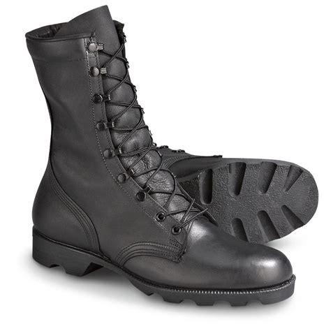 new u s combat boots black 152144 combat