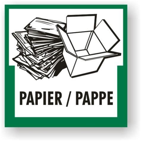 Aufkleber Papier by Brewes Shop Umweltkennzeichen Papier Pappe