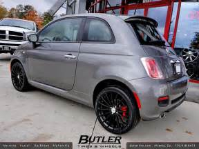 Fiat 500 Tires Fiat 500 With 17in Tsw Mallory Wheels Additional Picture