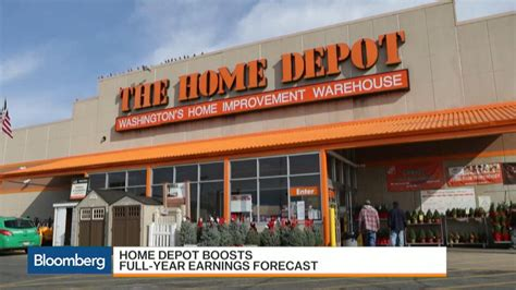 home depot earnings match estimates raises outlook
