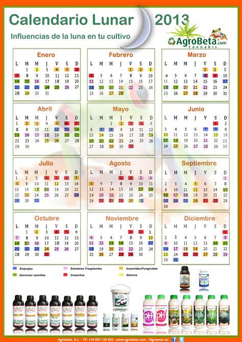 Calendario Lunar 2013 Abonos Ecol 243 Gicos Y Fertilizantes Ecologicos Agrobeta