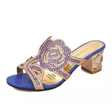 27 Coolest Platform Shoes For Summer 2009 by Summer Breathable Sandals Rhinestone Chic Shoes Slip
