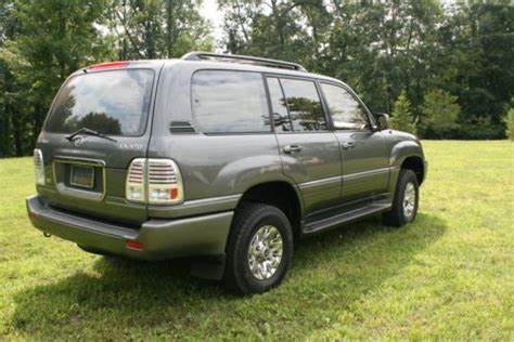 lexus truck lx buy used 1999 lx 470 lexus lx470 lexus suv truck grey in