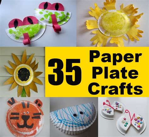 Easy Paper Plate Crafts For - 35 easy and unique paper plate crafts for