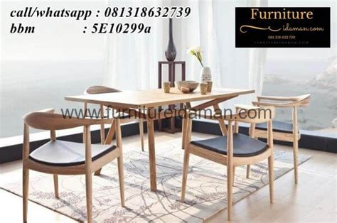 Jual Kursi Bar Di Palembang set meja kursi cafe resto kayu jati kci 73 furniture idaman furniture idaman