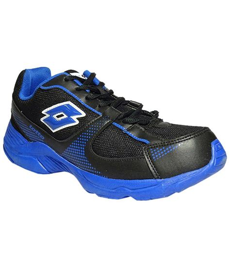 lotto black sports shoes price in india buy lotto black