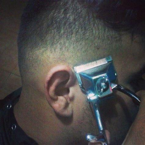 manual clipper haircut in progress manual clipper haircut in progress clipper haircuts
