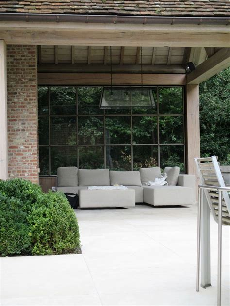 outside flooring ideen die 25 besten ideen zu windschutz glas auf