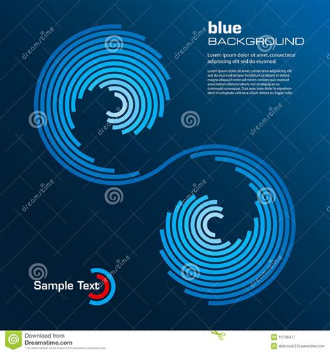 blue layout vector abstract blue layout vector royalty free stock