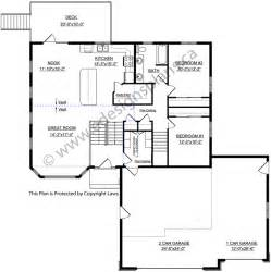 Bi Level Home Plans by Bi Level House Plan With A Bonus Room 2010542 By