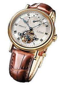 Bulgari Turbilon Leather Silver Otometic breguet 5317ba 12 9v6 tourbillon s watchmaxx