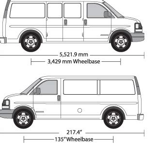 vehicle wrap templates for the chevy express van