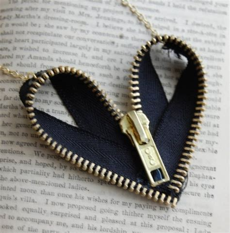 I Found A Zipper Necklace For by Zipper Necklace Craft Ideas