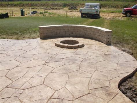 small concrete backyard ideas sted concrete patio designs springs concrete is the