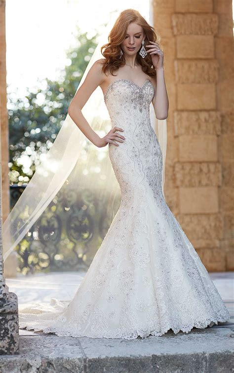 couture fit  flare wedding dress martina liana