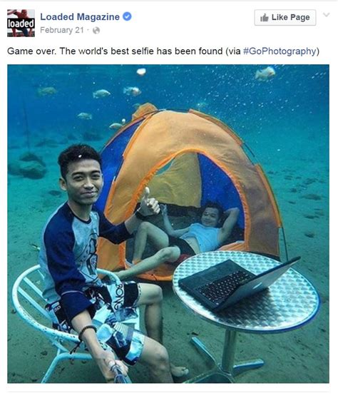 the world s best photos world s best selfie will make you think it s photoshopped newsgraph