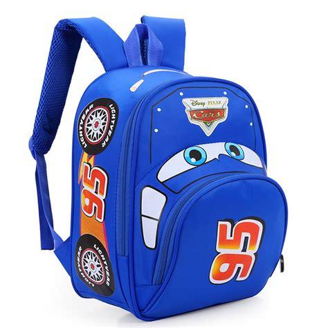 Travel Bag Anak Cars tas ransel anak pixar the cars blue jakartanotebook