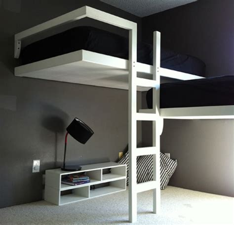 modern loft beds adult bunk bed loft bed