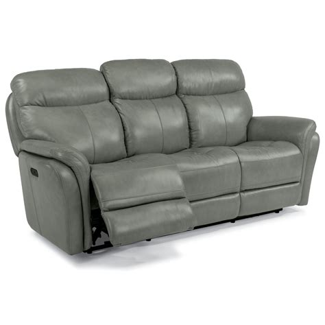 power reclining sofa with usb flexsteel latitudes zoey 1653 62p power reclining sofa