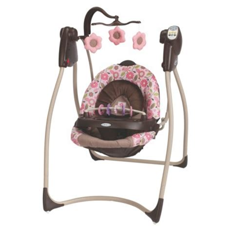 plug in baby swing graco lovin hug plug in swing carolina by graco