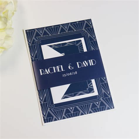 Wedding Invitations Gatsby by Gatsby Wedding Invitations Beyond Expectations Weddings