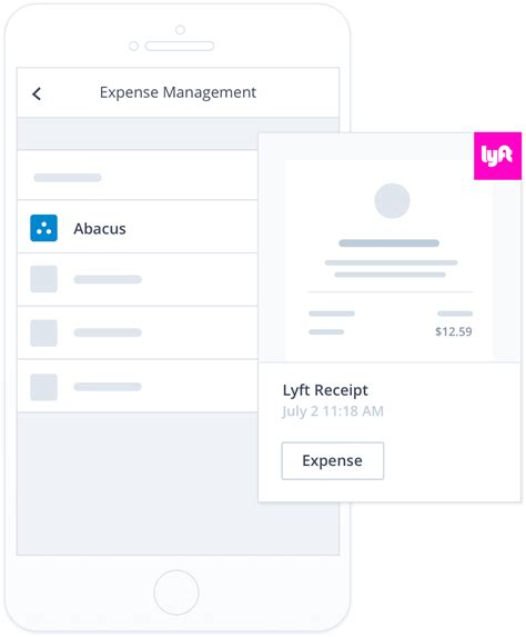 Lyft Receipt Template by Abacus And Lyft Team Up To Automate Expensing Rides
