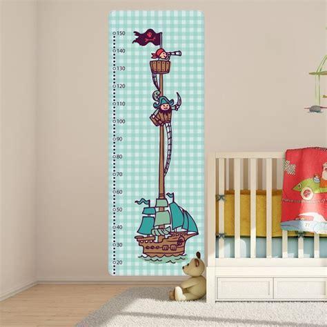 Decoration Pirate Pour Chambre by Sticker Toise Chambre Enfant D 233 Coration Pirate