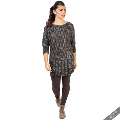 knit dresses for winter womens winter warm batwing jumper dress chunky knit tunic